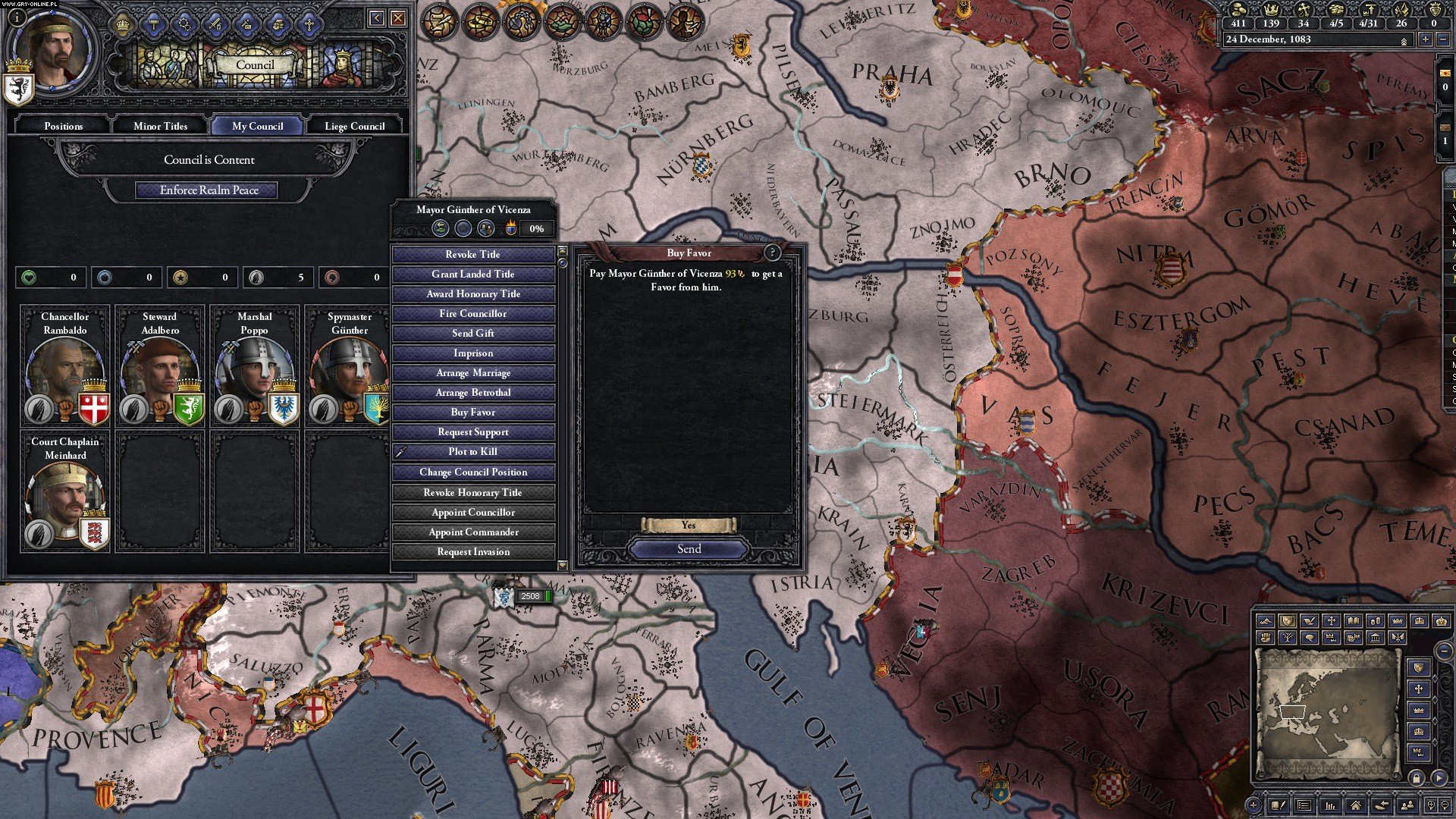 Crusader Kings II: Conclave PC Gry Screen 3/5, Paradox Development Studio, Paradox Interactive