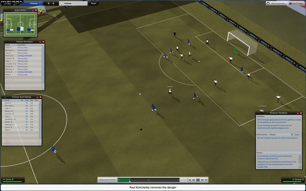 Football Manager 2009 PC Gry Screen 9/29, Sports Interactive, SEGA