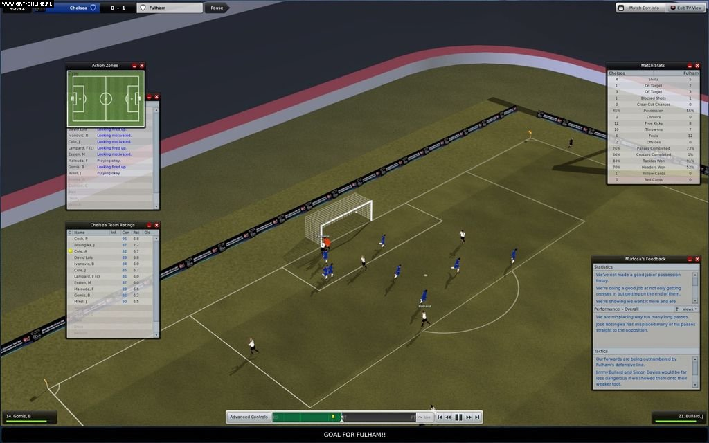 Football Manager 2009 PC Gry Screen 1/29, Sports Interactive, SEGA