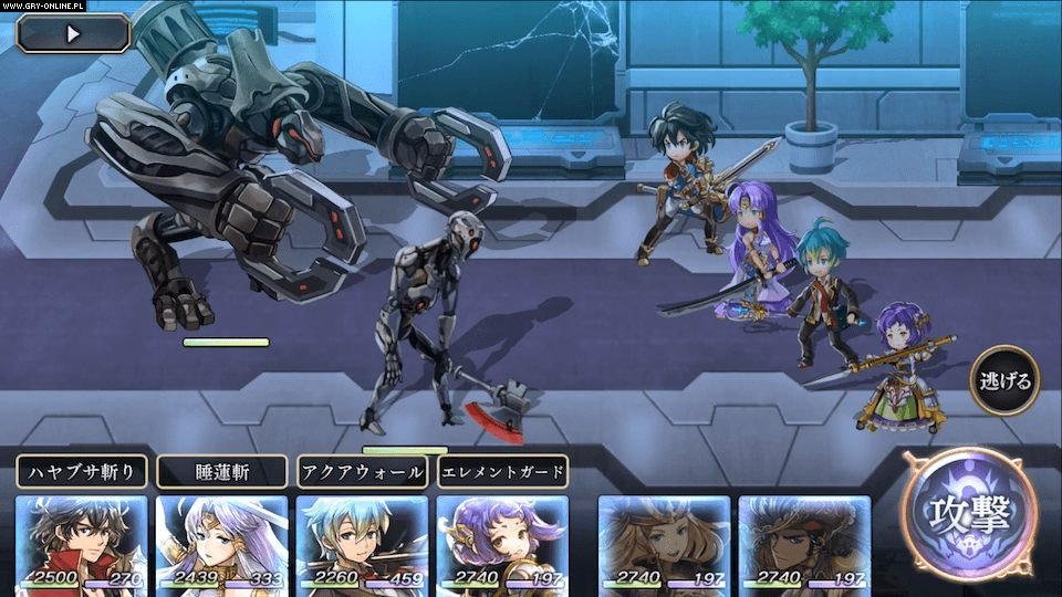 Another Eden: The Cat Beyond Time and Space AND, iOS, Switch Gry Screen 7/8, Wright Flyer Studios