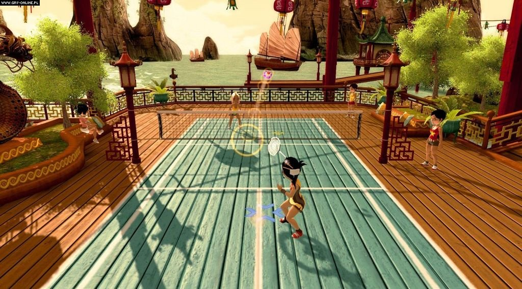 Fun Games For Xbox Original : Racquet sports screenshots gallery screenshot