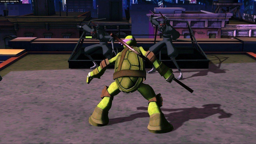 Nickelodeon's Teenage Mutant Ninja Turtles X360, Wii Gry Screen 3/3, Activision Blizzard