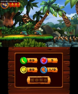 Donkey Kong Country Returns 3DS Gry Screen 3/53, Retro Studios, Nintendo