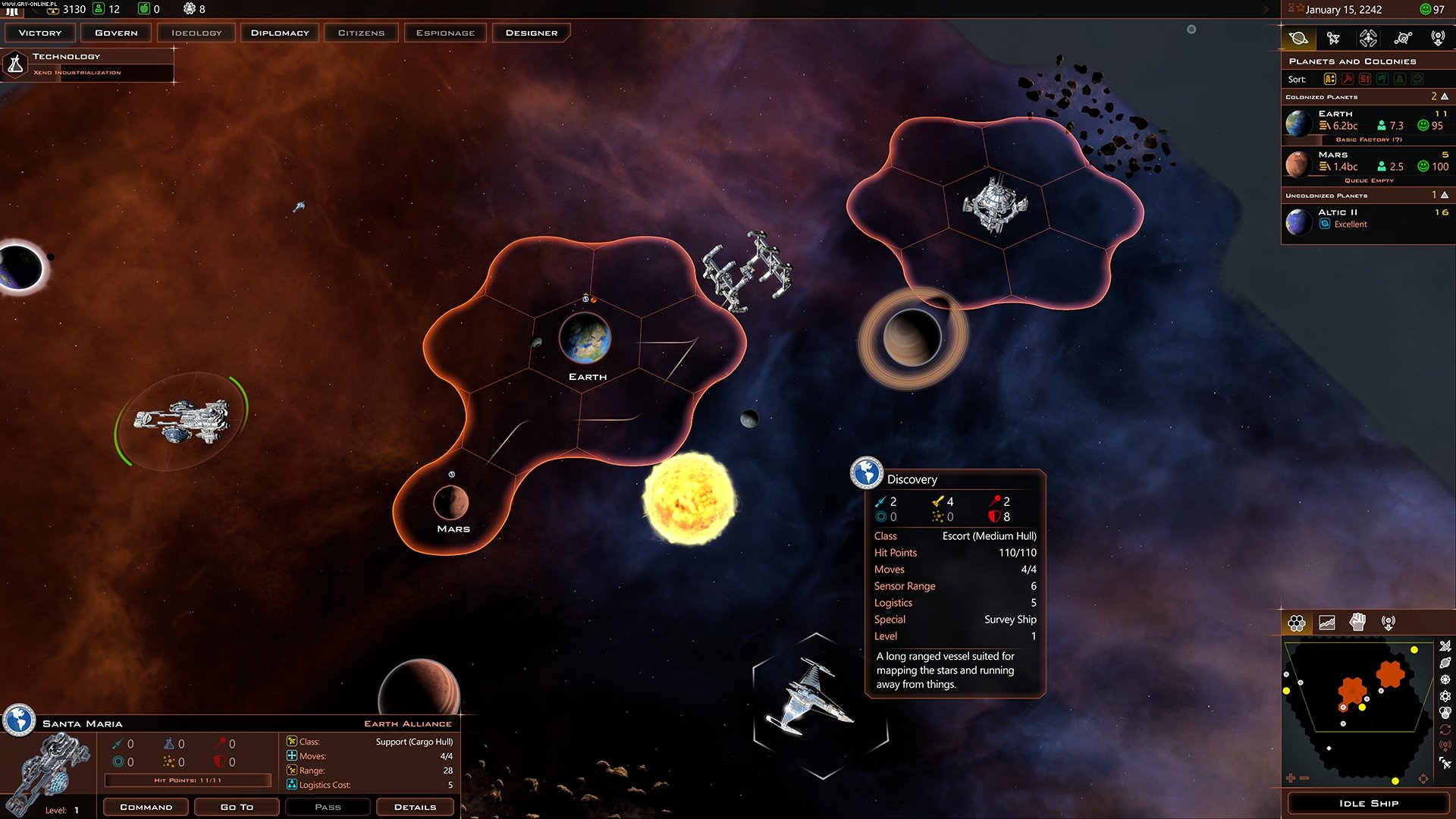 Galactic Civilizations III: Crusade PC Games Image 4/4, Stardock Corporation