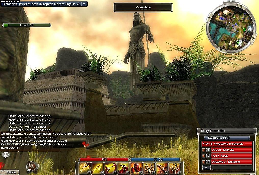 Guild Wars: Nightfall - screenshots gallery - screenshot 1