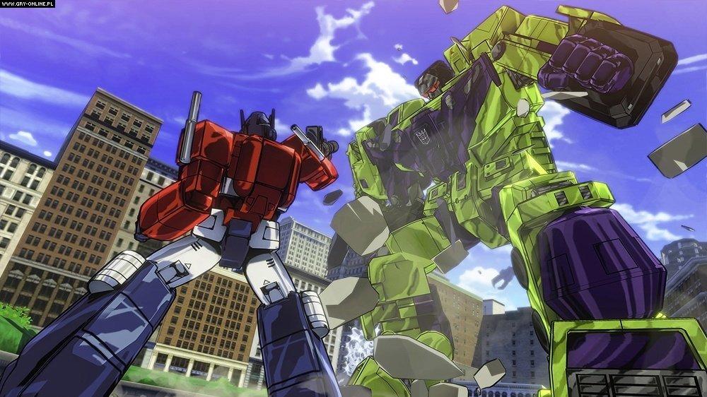 Ps4 Games Science Fiction : Transformers devastation screenshots gallery
