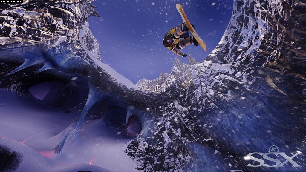SSX X360, PS3 Gry Screen 46/54, EA Sports, Electronic Arts Inc.
