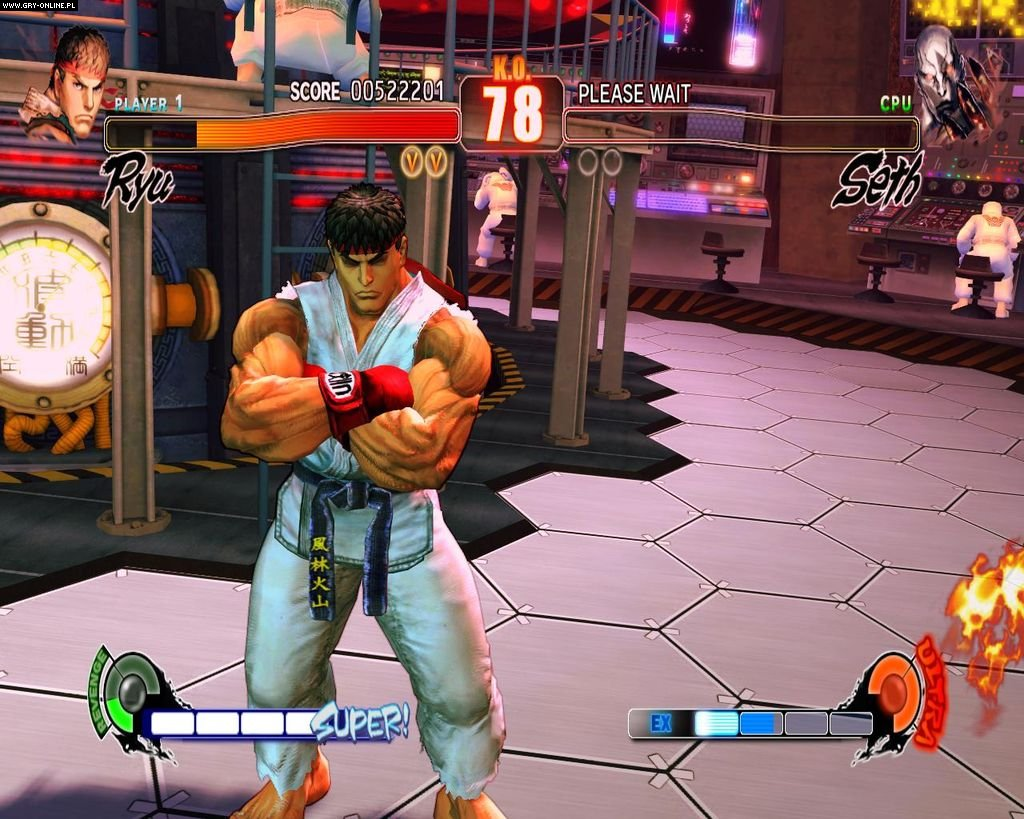 Street Fighter IV PC Gry Screen 9/234, Capcom