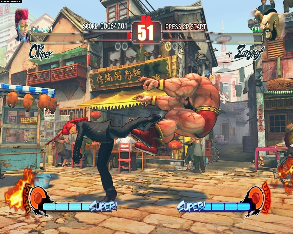 Street Fighter IV PC Gry Screen 7/234, Capcom
