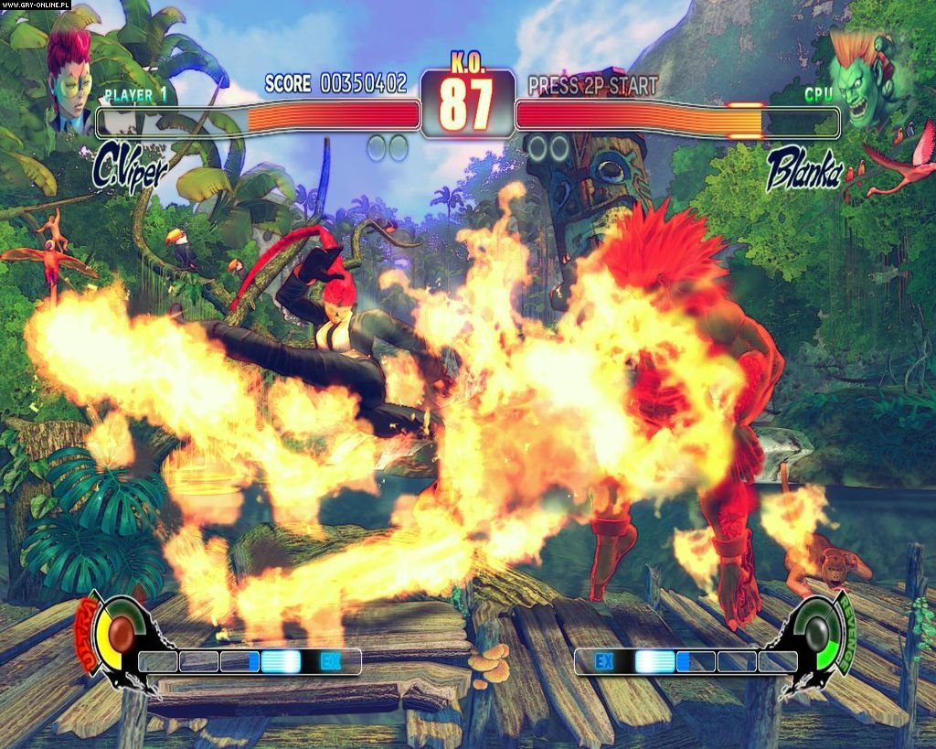 Street Fighter IV PC Gry Screen 5/234, Capcom