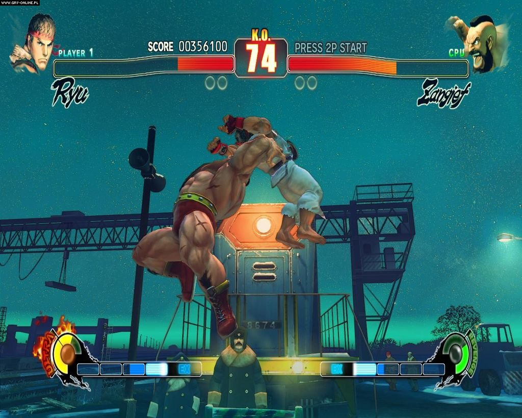 Street Fighter IV PC Gry Screen 1/234, Capcom