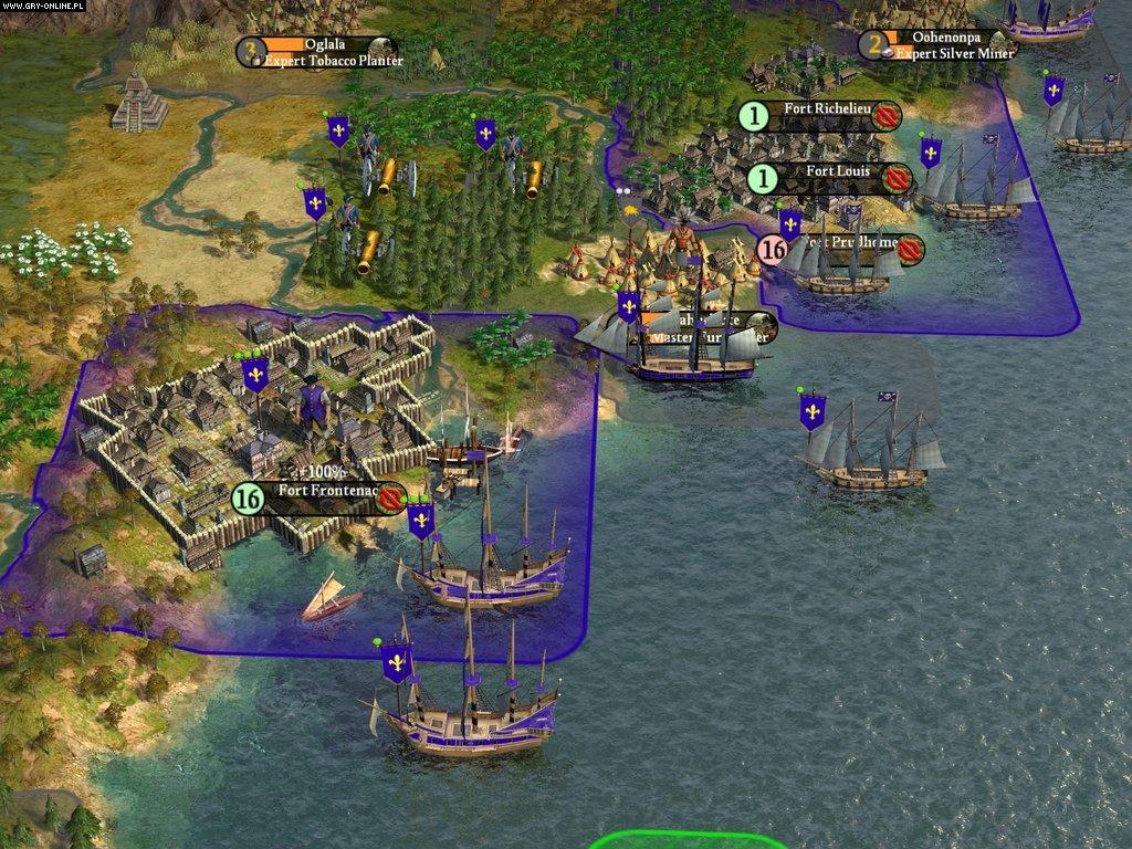 Sid Meier's Civilization IV: Colonization - screenshots gallery