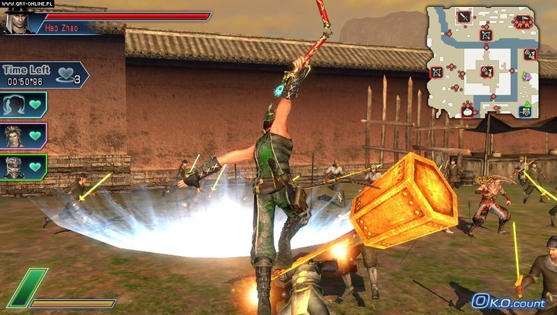 Dynasty Warriors Next PSV Gry Screen 59/84, Koei, Koei Tecmo