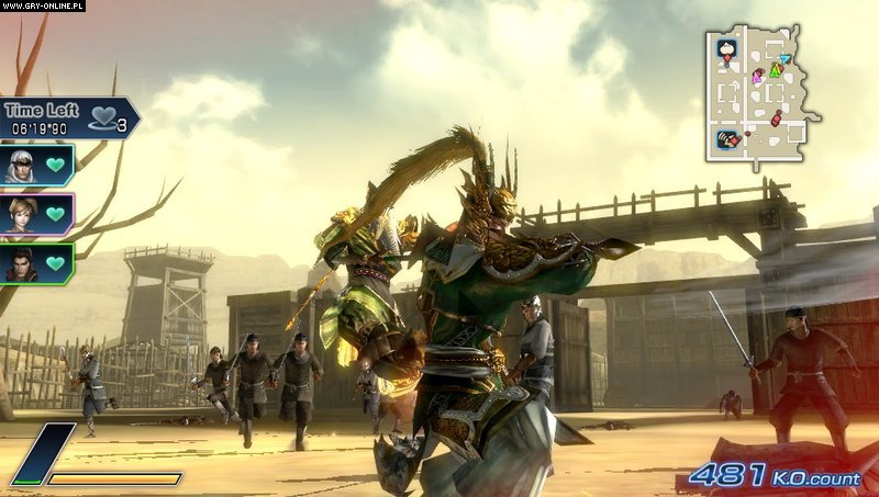 Dynasty Warriors Next PSV Gry Screen 51/84, Koei, Koei Tecmo