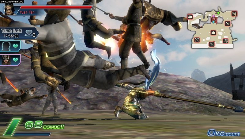 Dynasty Warriors Next PSV Gry Screen 47/84, Koei, Koei Tecmo