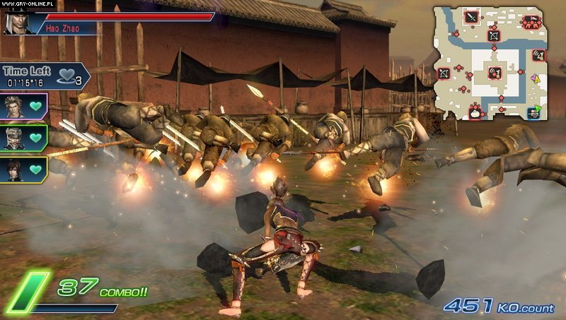 Dynasty Warriors Next PSV Gry Screen 41/84, Koei, Koei Tecmo