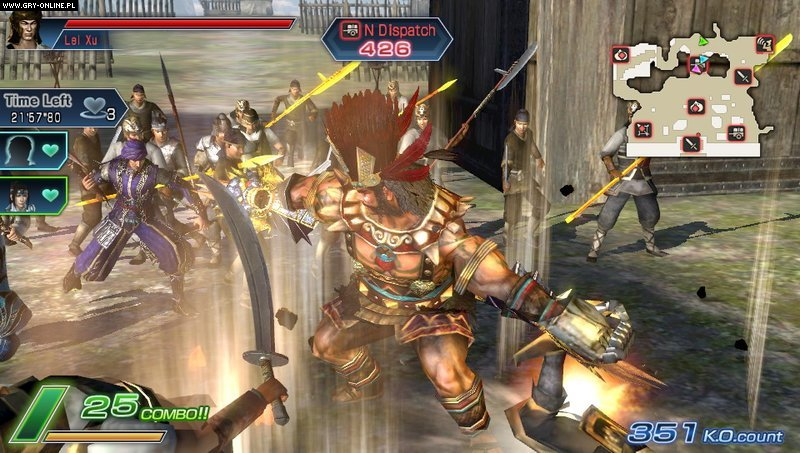 Dynasty Warriors Next PSV Gry Screen 35/84, Koei, Koei Tecmo