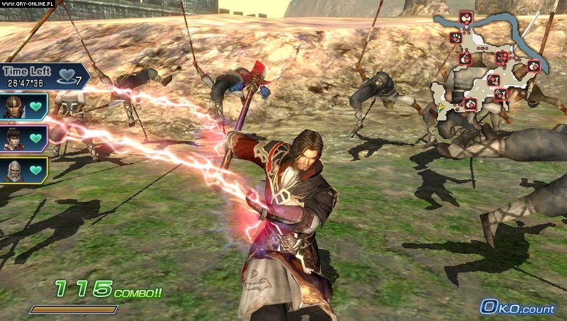 Dynasty Warriors Next PSV Gry Screen 34/84, Koei, Koei Tecmo