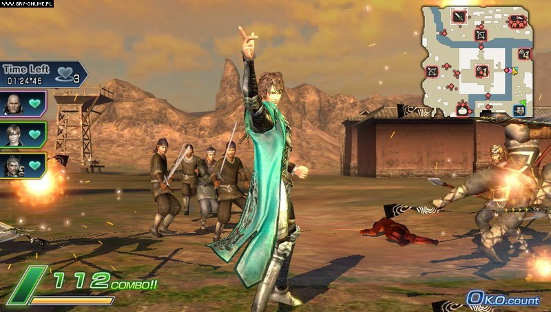 Dynasty Warriors Next PSV Gry Screen 27/84, Koei, Koei Tecmo