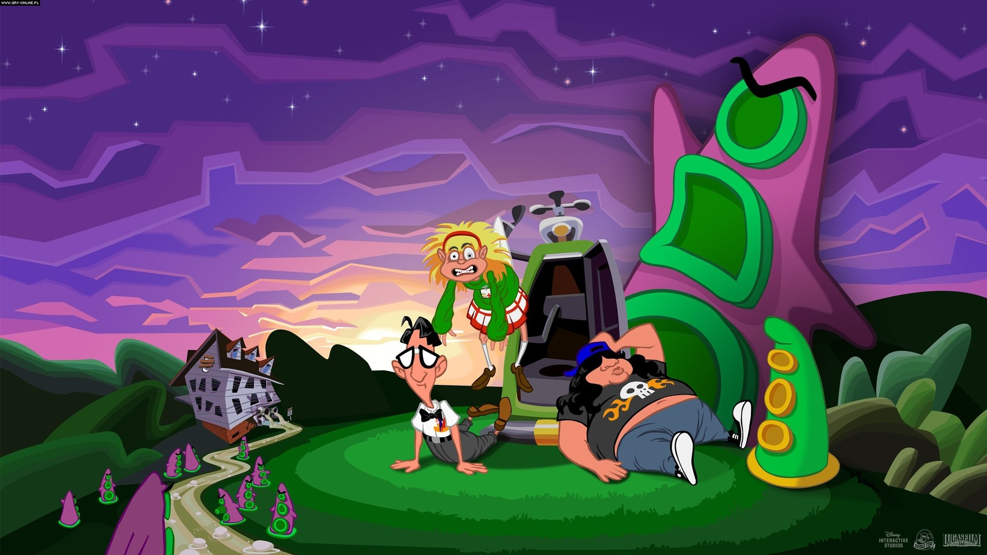 Day of the Tentacle: Remastered PC, PS4, PSV Games Image 8/14, Double Fine Productions, Inc.