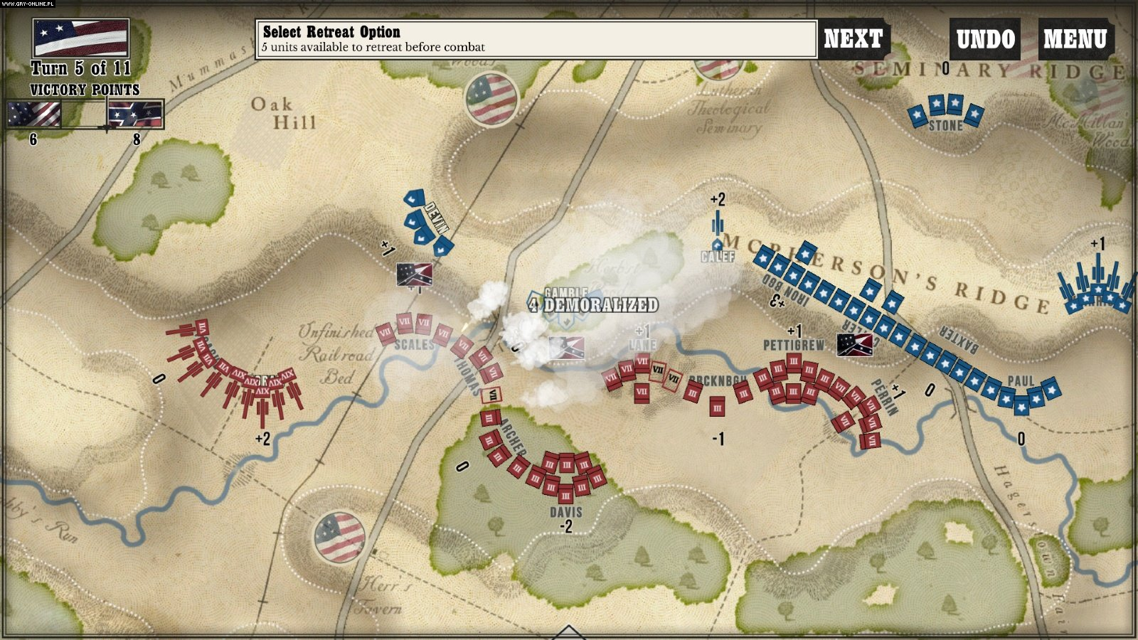Gettysburg: The Tide Turns PC, iOS Games Image 4/4, Shenandoah Studio, Matrix Games/Slitherine