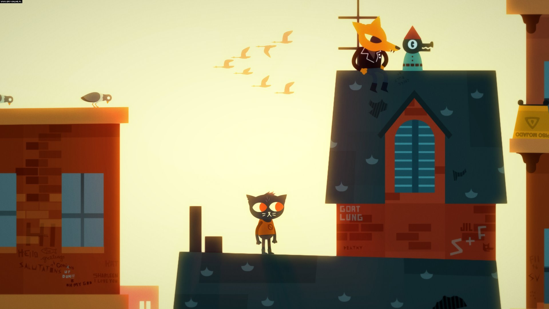 Night in the Woods PC, PS4, XONE, AND, iOS, Switch Gry Screen 4/8, Infinite Fall