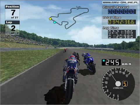 MotoGP 3 PS2 Gry Screen 3/6, Bandai Namco Entertainment