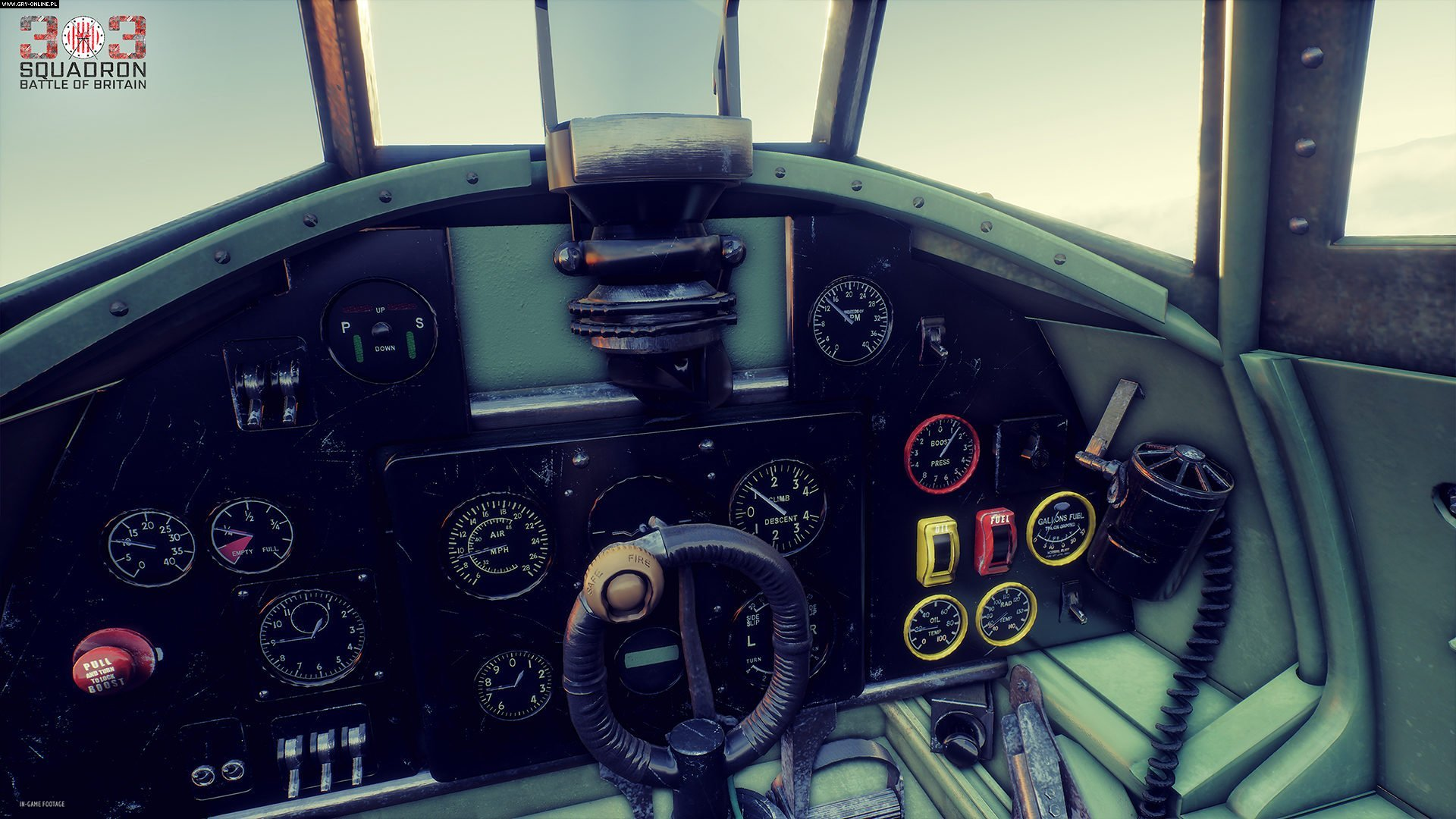 303 Squadron: Battle of Britain PC, PS4, XONE, Switch Games Image 2/7, Atomic Jelly, Movie Games