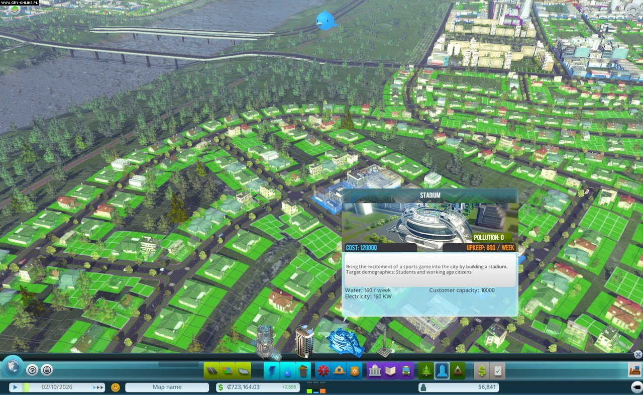 Cities: Skylines PC Gry Screen 38/42, Colossal Order, Paradox Interactive