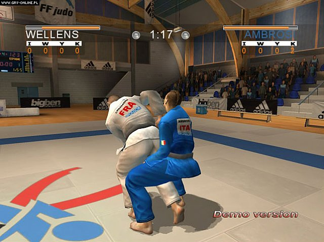 David Douillet Judo PC Gry Screen 9/11, 10tacle Studios, Bigben Interactive