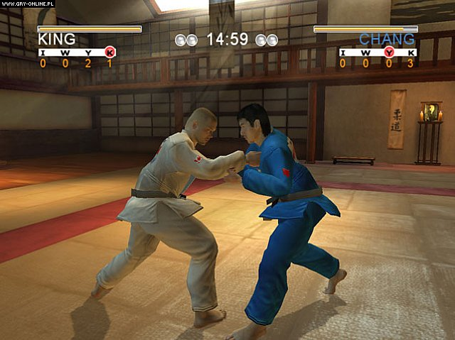David Douillet Judo PC Gry Screen 5/11, 10tacle Studios, Bigben Interactive