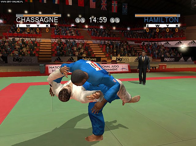 David Douillet Judo PC Gry Screen 4/11, 10tacle Studios, Bigben Interactive