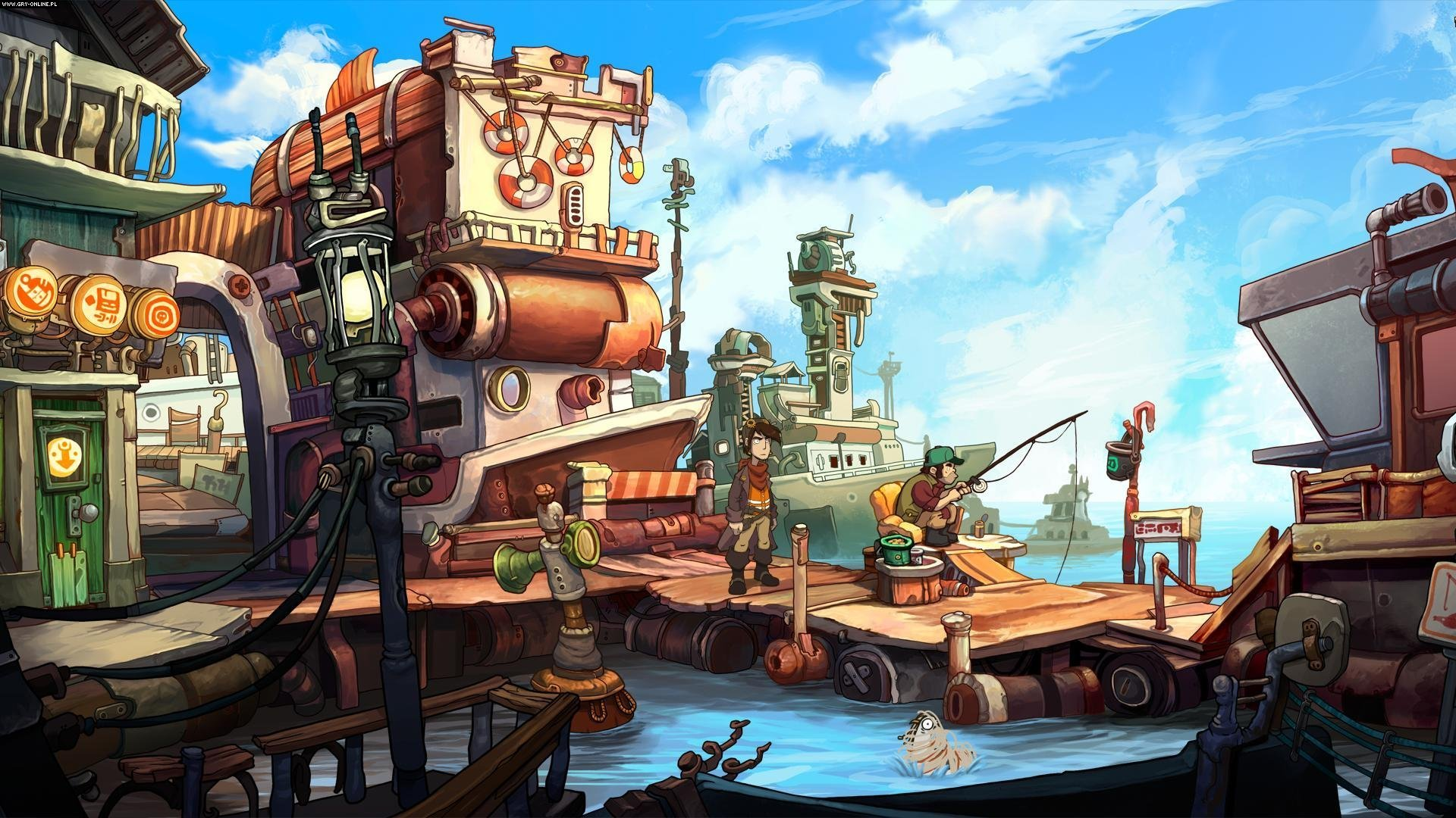 Chaos on Deponia PC, PS4, XONE Gry Screen 8/9, Daedalic Entertainment