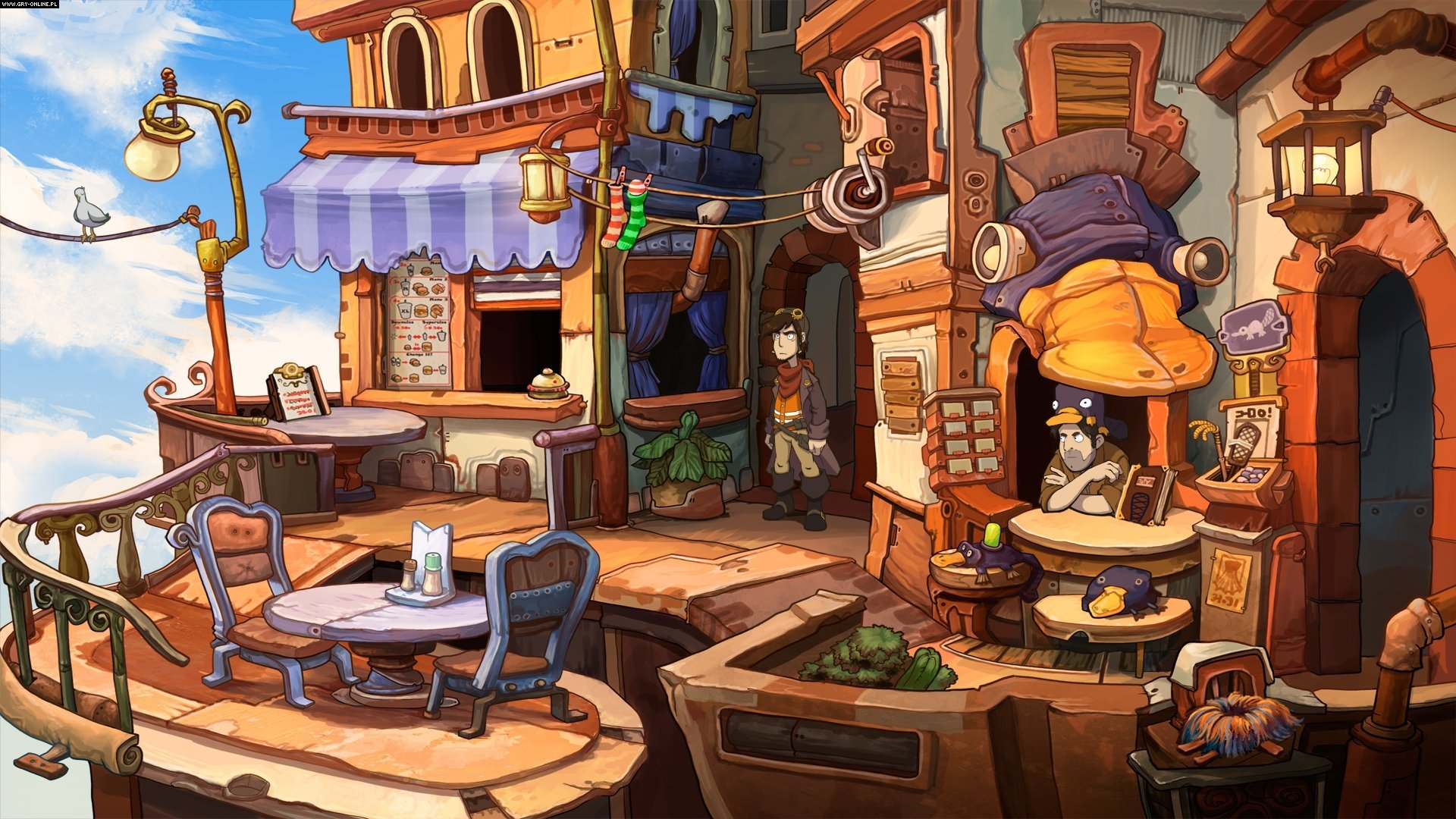Chaos on Deponia PC, PS4, XONE Gry Screen 5/9, Daedalic Entertainment