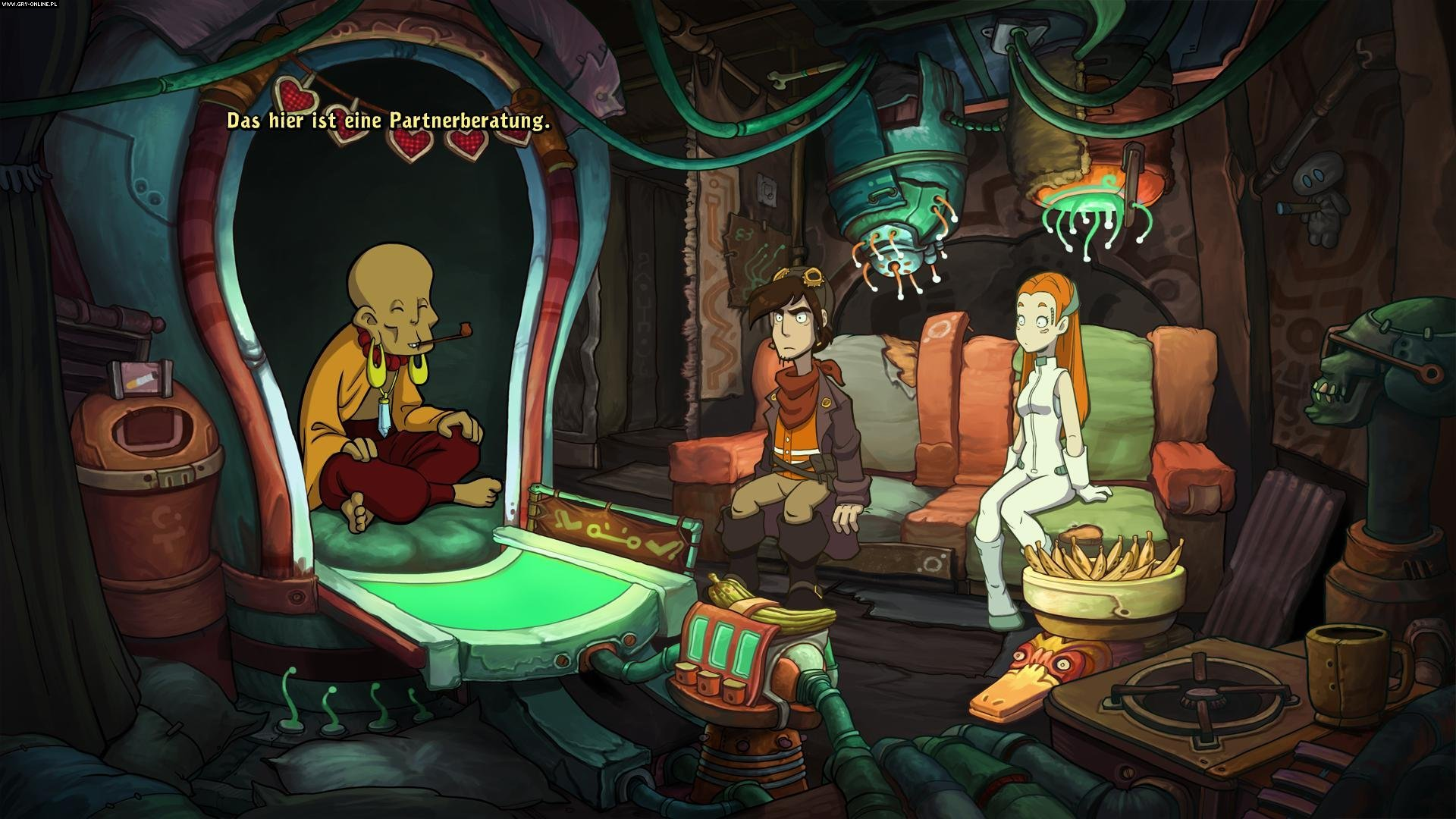 Chaos on Deponia PC, PS4, XONE Gry Screen 2/9, Daedalic Entertainment