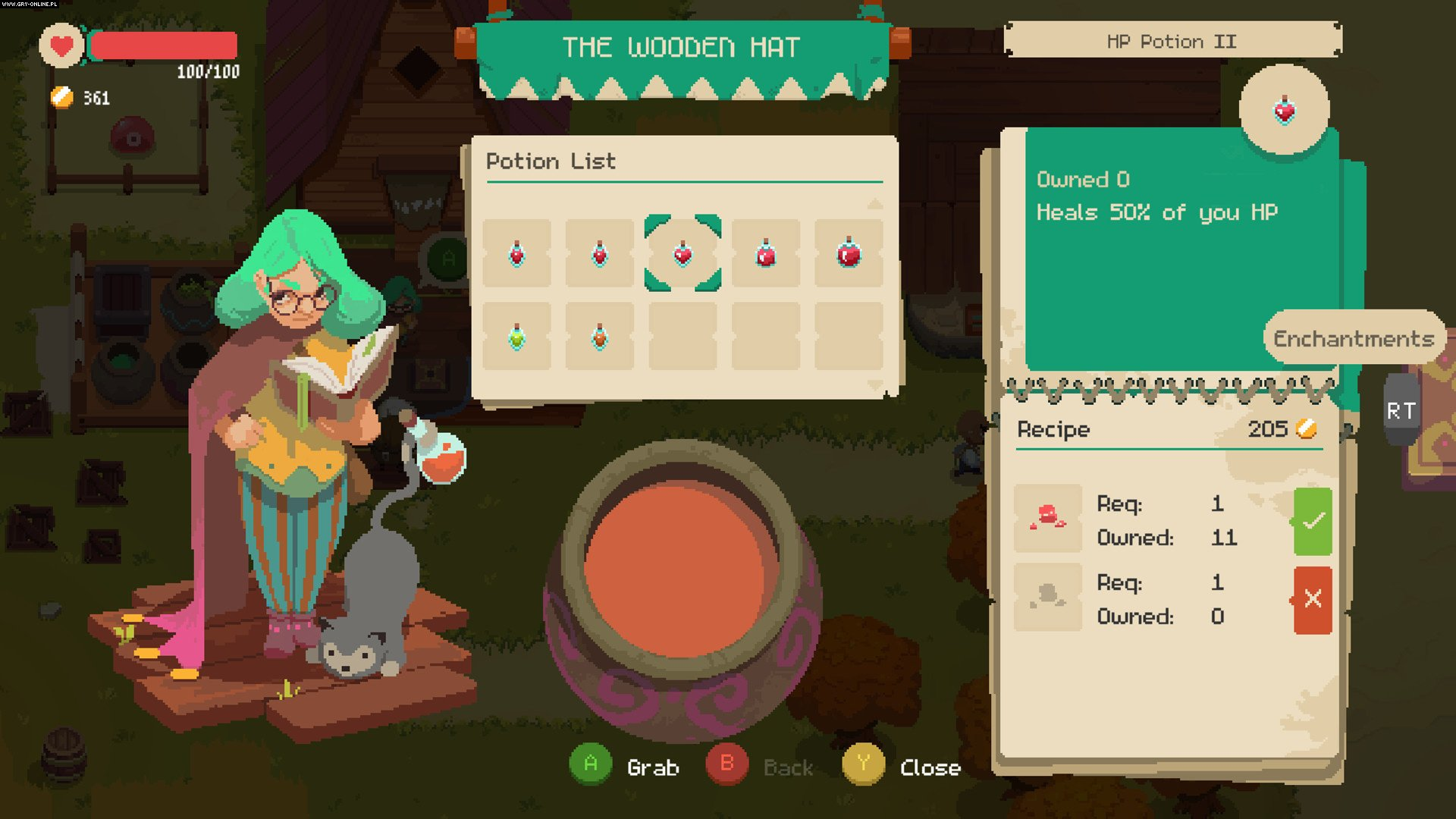 Moonlighter PC, PS4, XONE, Switch Gry Screen 1/25, Digital Sun Games, 11 bit studios
