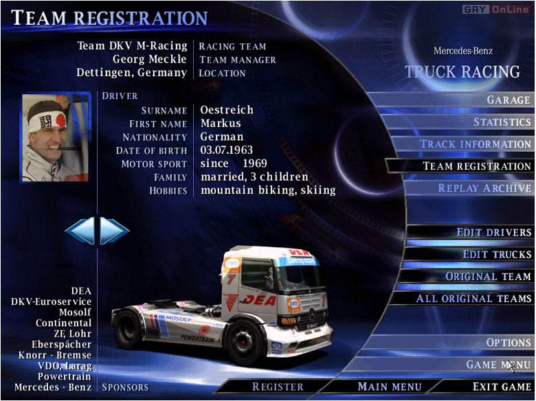Free download mercedes benz truck racing 2000 pc programs for Mercedes benz training program