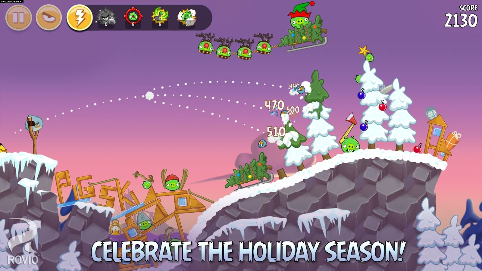 Angry Birds Seasons PC, WP, AND, iOS Gry Screen 4/4, Rovio Mobile