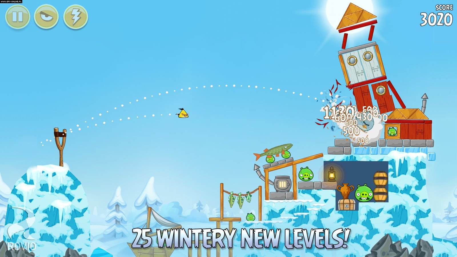 Angry Birds Seasons PC, WP, AND, iOS Gry Screen 1/4, Rovio Mobile