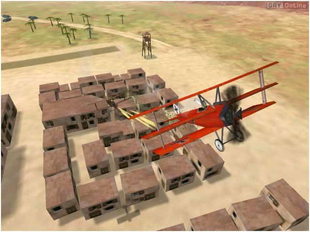 Первая мировая война - время бипланов, время Red Ace Squadron. http