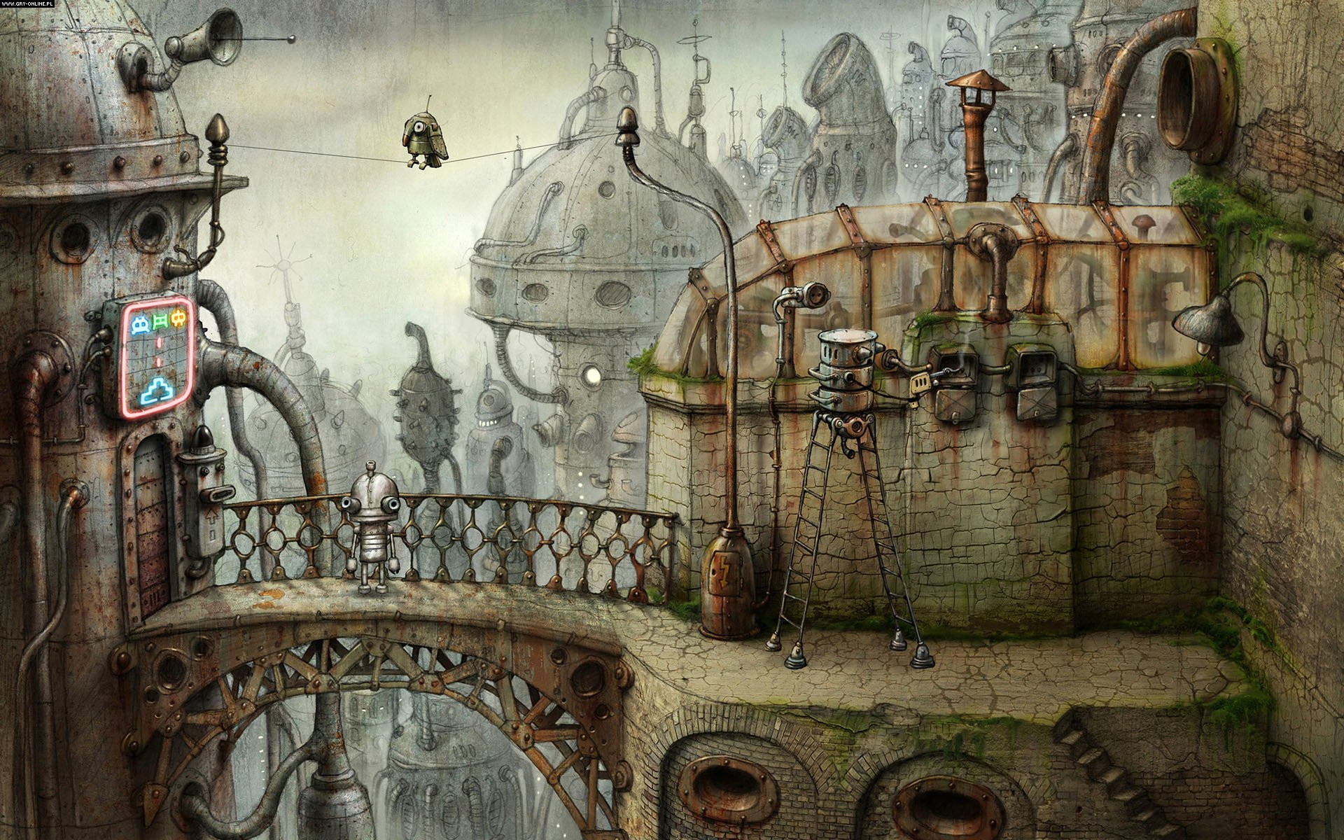 Machinarium PC, PS3, Wii, PSV, PS4, AND, iOS, WP Gry Screen 2/23, Amanita Design, Daedalic Entertainment