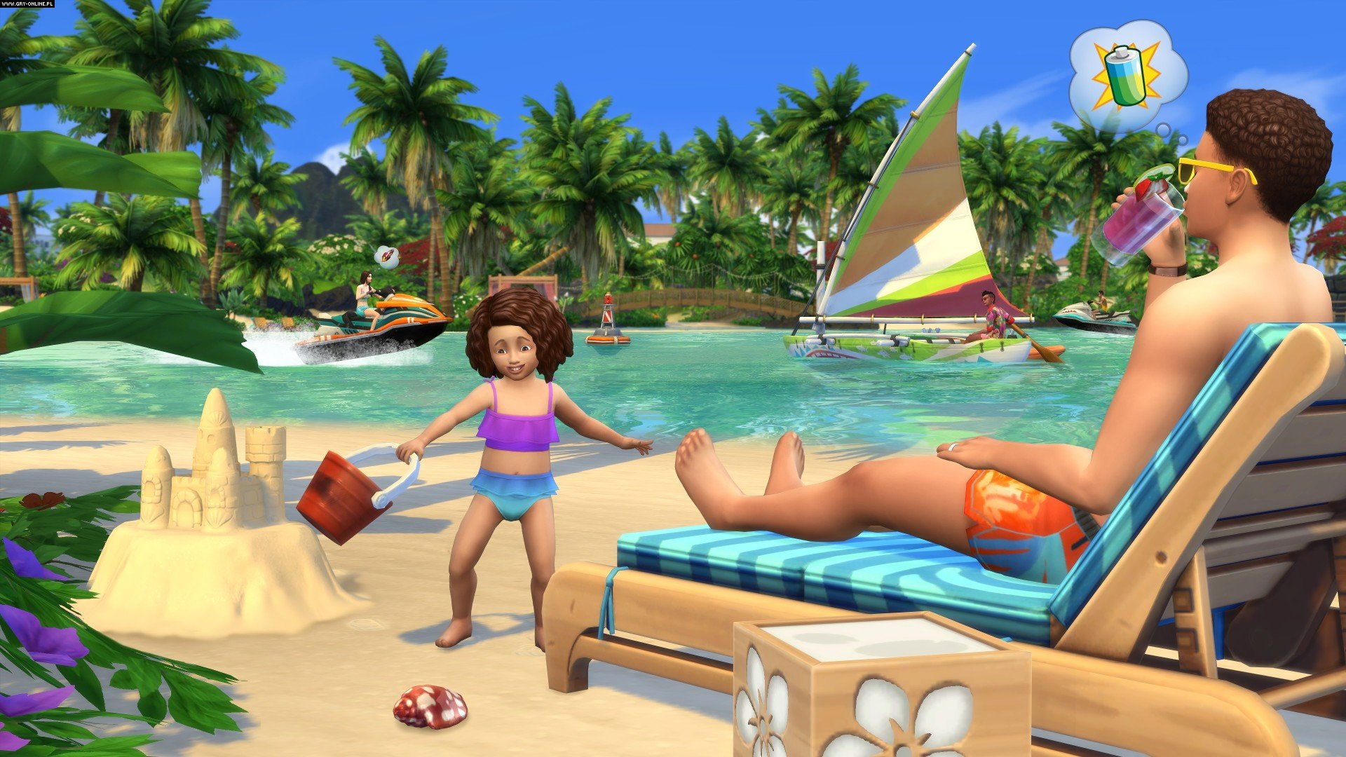 The Sims 4: Island Living PC, PS4, XONE Games Image 2/4, EA Maxis / Maxis Software, Electronic Arts Inc.