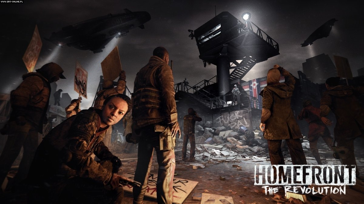 Homefront: The Revolution PC, PS4, XONE Gry Screen 42/43, Deep Silver Dambuster Studios, Deep Silver / Koch Media
