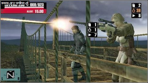 Metal Gear Acid PSP Gry Screen 4/14, Konami