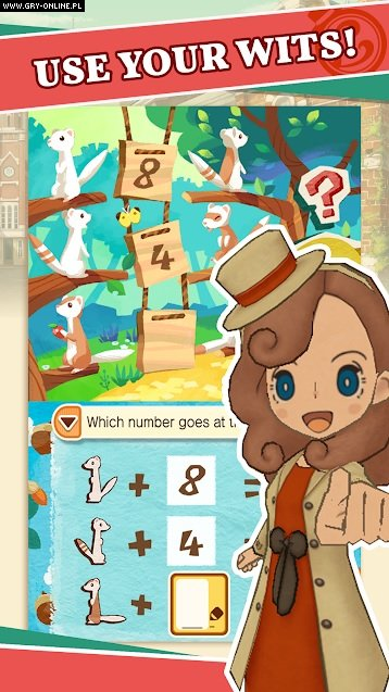 Layton's Mystery Journey: Katrielle and the Millionaires' Conspiracy AND, iOS Gry Screen 5/6, Level 5