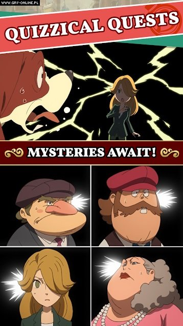 Layton's Mystery Journey: Katrielle and the Millionaires' Conspiracy AND, iOS Gry Screen 3/6, Level 5
