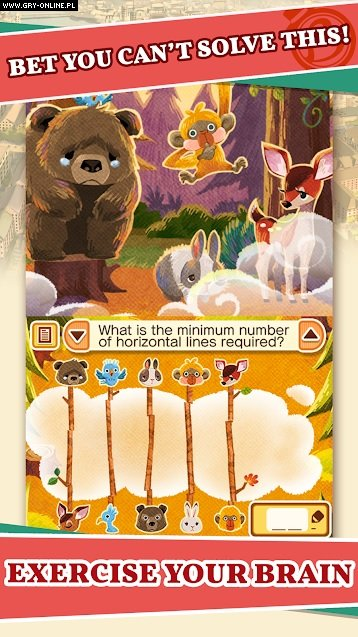 Layton's Mystery Journey: Katrielle and the Millionaires' Conspiracy AND, iOS Gry Screen 2/6, Level 5