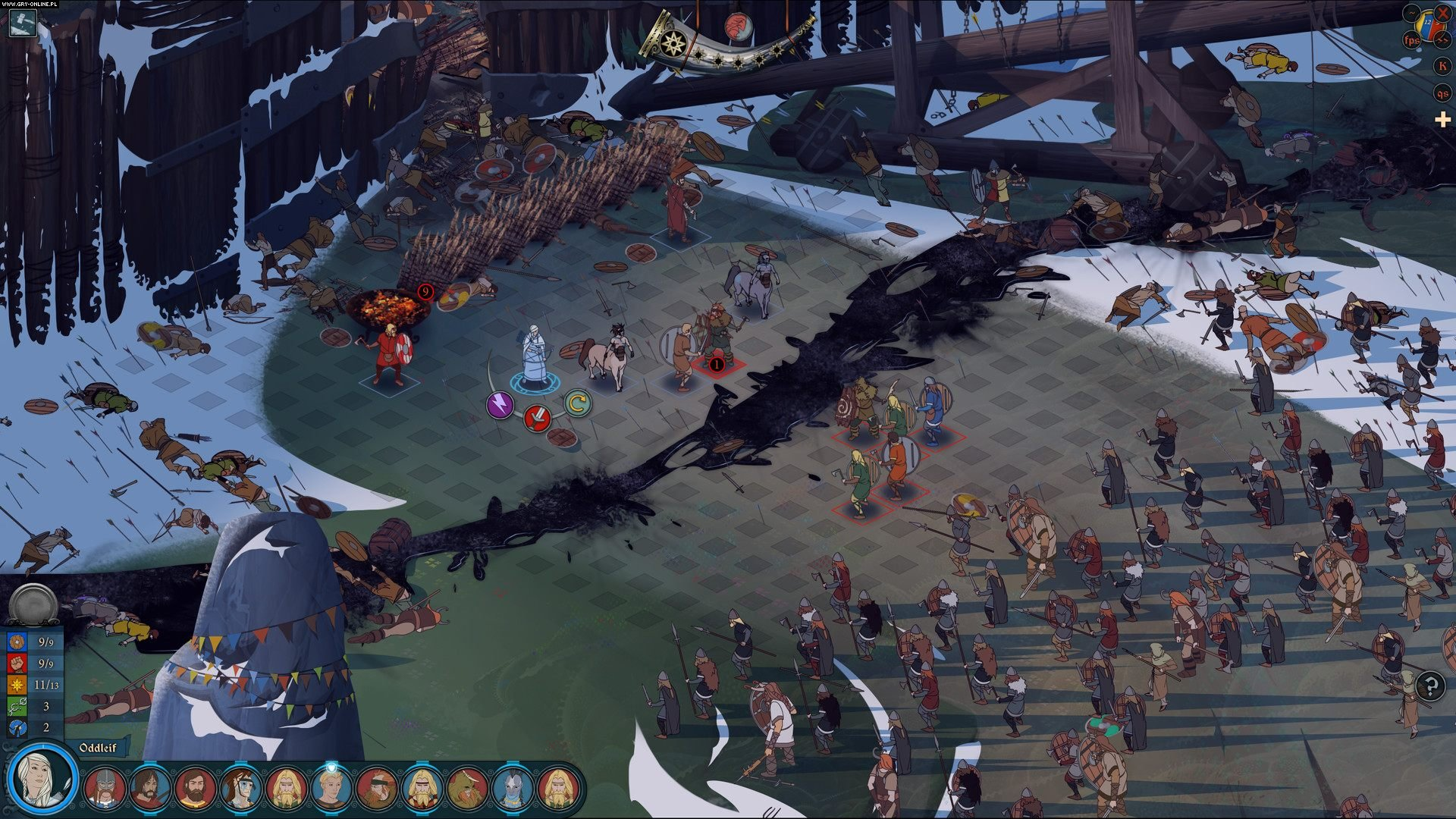 The Banner Saga 3 PC, PS4, XONE, Switch Gry Screen 4/5, Stoic, Versus Evil