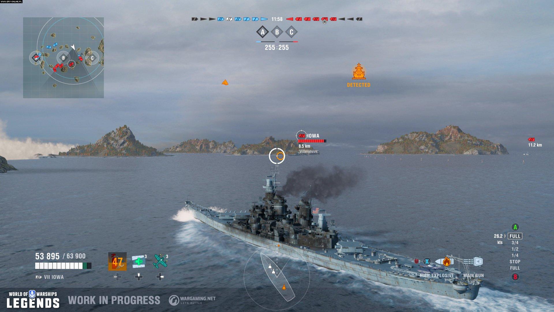 World of Warships: Legends - screenshots gallery