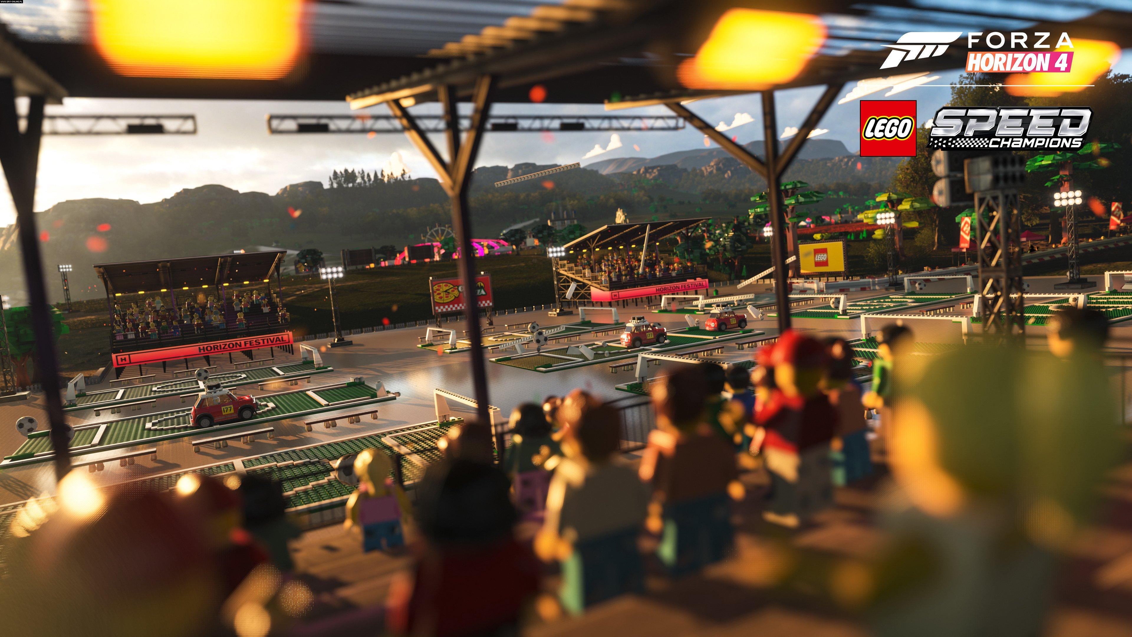Forza Horizon 4: LEGO Speed Champions PC Download, foto: reprodução